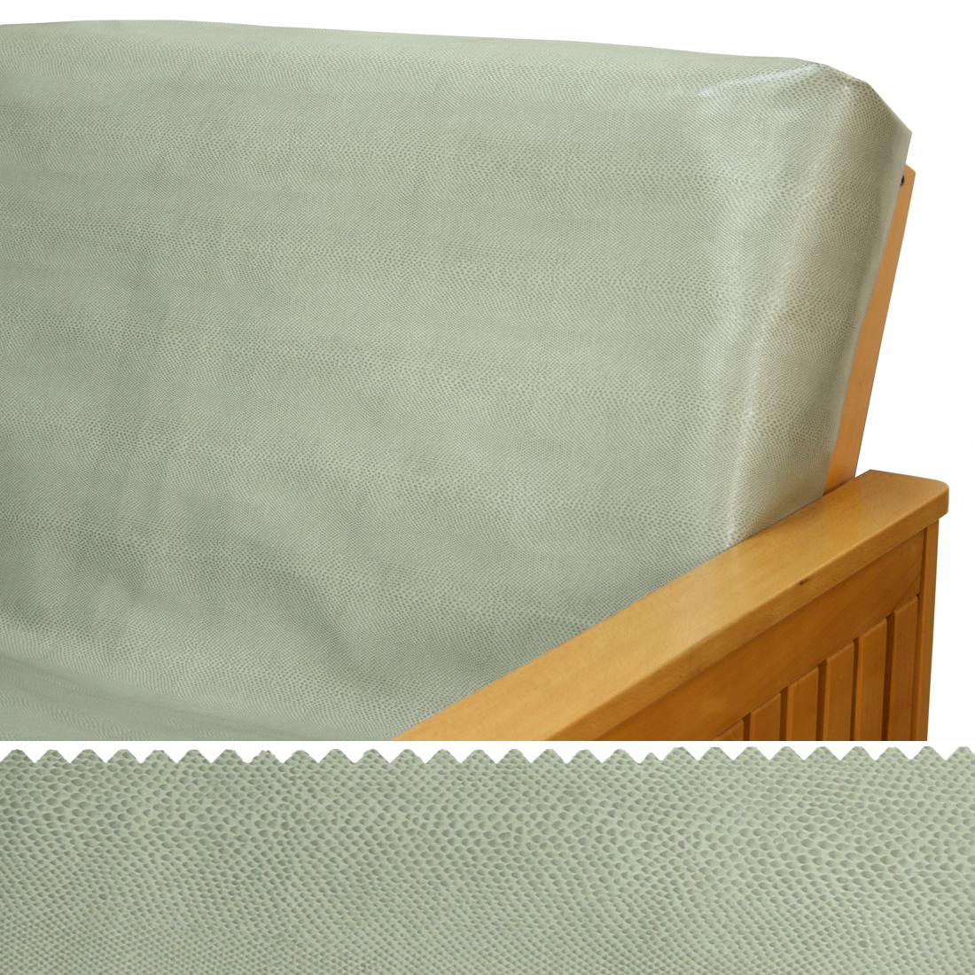 Faux Leather Gator Click Clack Futon Cover Buy From