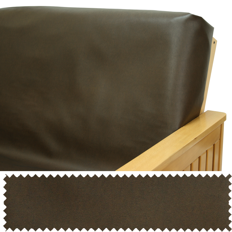 faux leather espresso futon cover buy from manufacturer and save