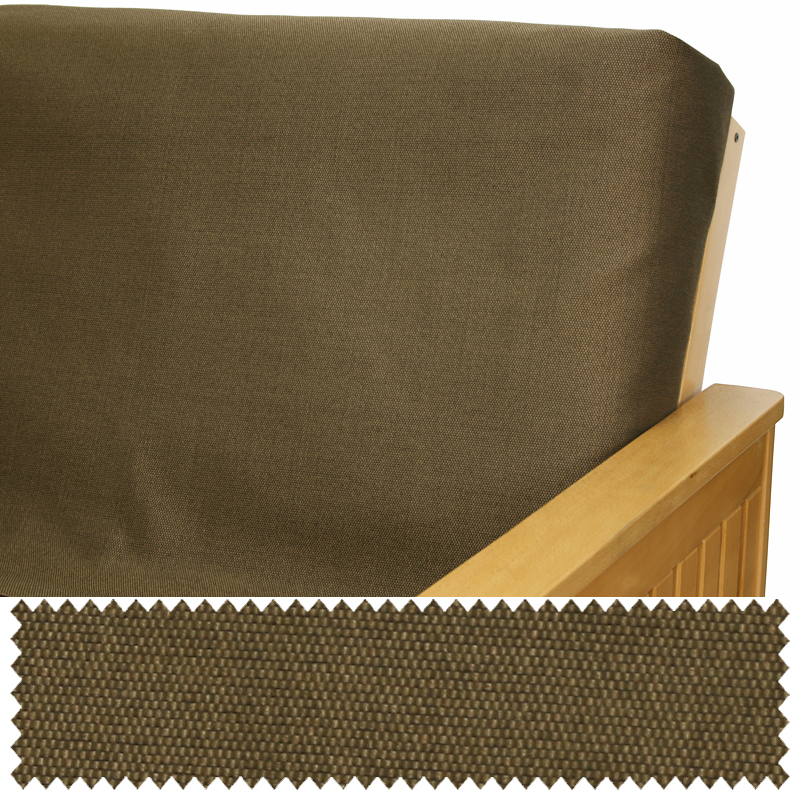 Hemp Brown Skirted Futon Cover Buy From Manufacturer And