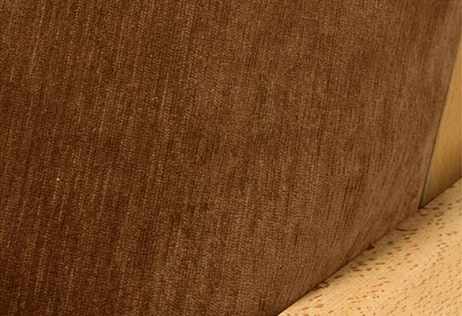 Chenille Saddle Brown Futon Cover