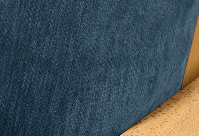 Chenille Navy Blue Fabric Swatch Buy From Manufacturer